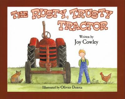 The rusty, trusty tractor Book cover