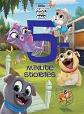 Puppy dog pals : 5-minute stories Book cover