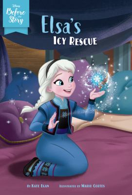 Elsa's icy rescue Book cover
