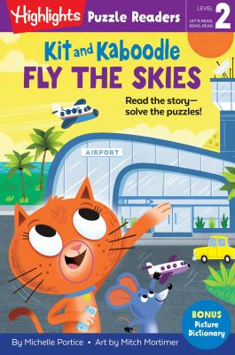 Kit and Kaboodle fly the skies Book cover