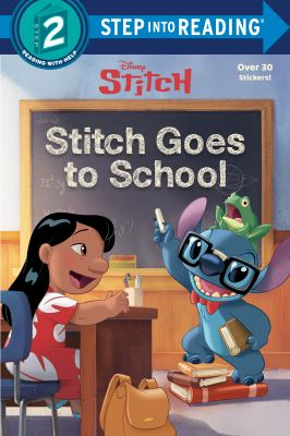 Stitch goes to school Book cover