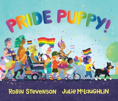 Pride puppy! Book cover