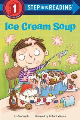 Ice cream soup Book cover