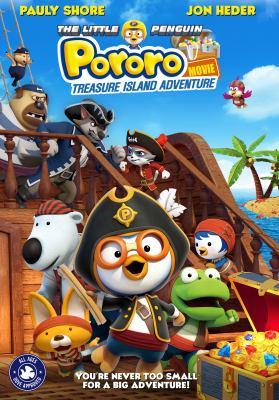The little penguin Pororo treasure island adventure movie Book cover