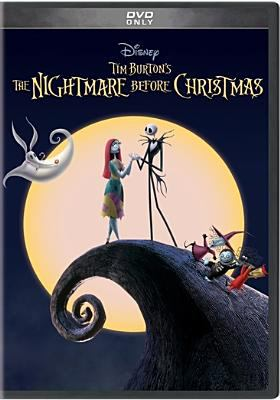 The nightmare before Christmas Book cover