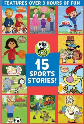 15 sports stories! Book cover