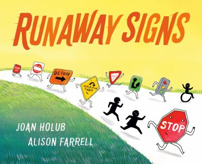 Runaway signs Book cover