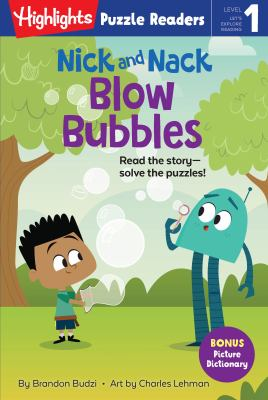 Nick and Nack blow bubbles Book cover