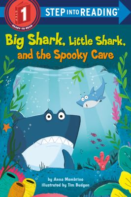 Big shark, little shark, and the spooky cave Book cover