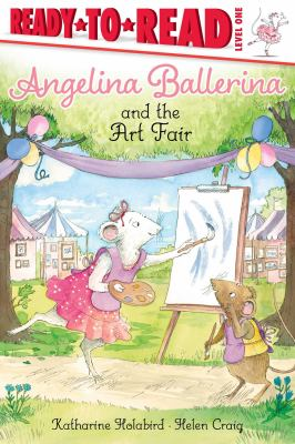 Angelina Ballerina and the art fair Book cover