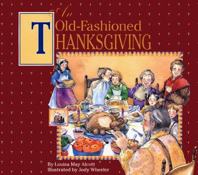 An old-fashioned Thanksgiving Book cover