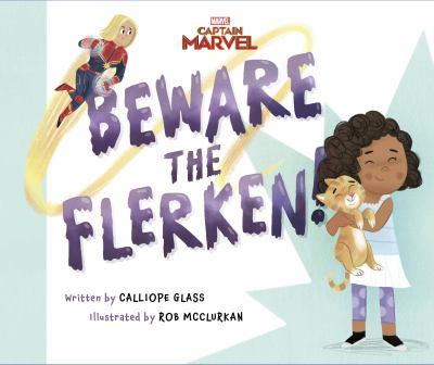 Marvel, Captain Marvel. Beware the flerken! Book cover